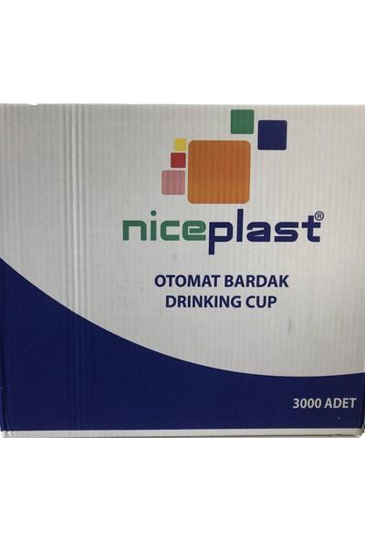 Niceplast Plastik Pet Bardak 180 cc Şeffaf 3000 Adet