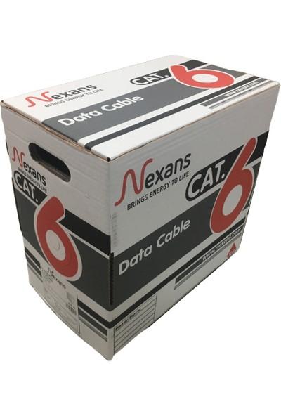 Nexans Cat6 305M 23AWG Pvc Utp %100 Bakır