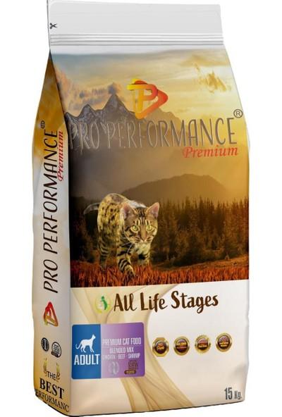 Pro Performance Adult Cat Mix Tavuklu Kedi Maması 15 kg