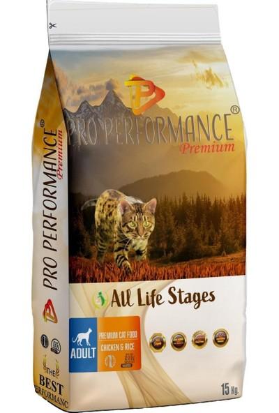 Pro Performance Tavuk Etli Pirinçli Yetişkin Kedi Maması 15 kg