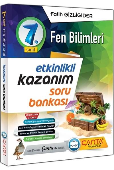 Çanta Yayınları 7.sınıf Fen Bilimleri Etkinlikli Kazanım Soru Bankası 2020