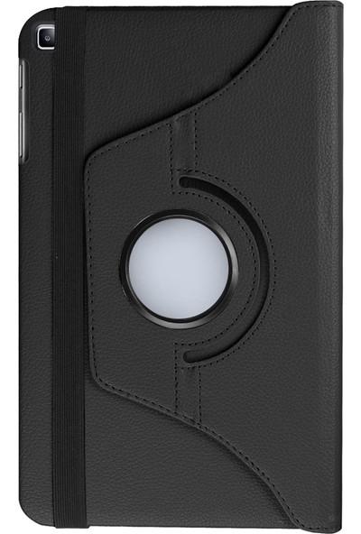 "GoGo Samsung Galaxy Tab A 8.0"" T290/295/297 360 Derece Döner Tablet Kılıf Siyah"