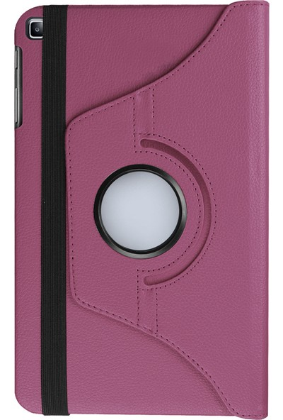 "GoGo Samsung Galaxy Tab A 8.0"" T290/295/297 360 Derece Döner Tablet Kılıf Mor"