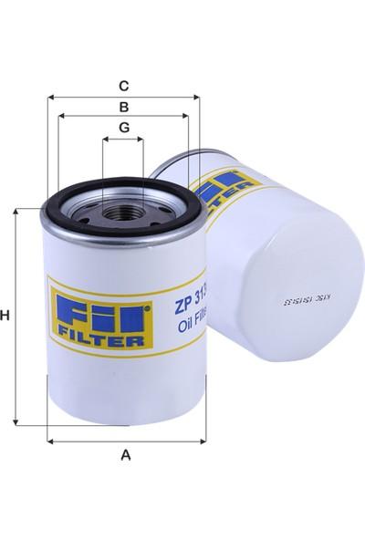 Real Filter Ford-Ranger-2-5Tcdi-3-0Tcdi-2007-Yağ Filtresi 1449182-6M346731Aa-W713-36-Oc615