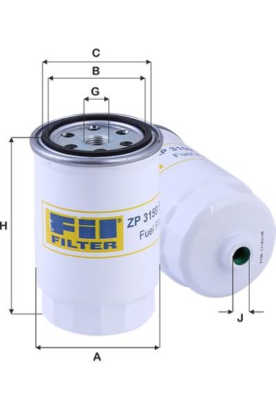 Real Filter Hyundai H100 2.5Crdi (2009-) Mazot Yakıt Filtresi 319222E900-319223A850-319224H000-Wk8019-Wk824/1-Kc226