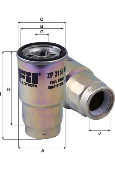 Real Filter Toyota Corolla 2,2D-4D-2.0-4D (2002-) Mazot Yakıt Filtresi 2339064450-2339033020-Wk720/2-Kc100-Pp950