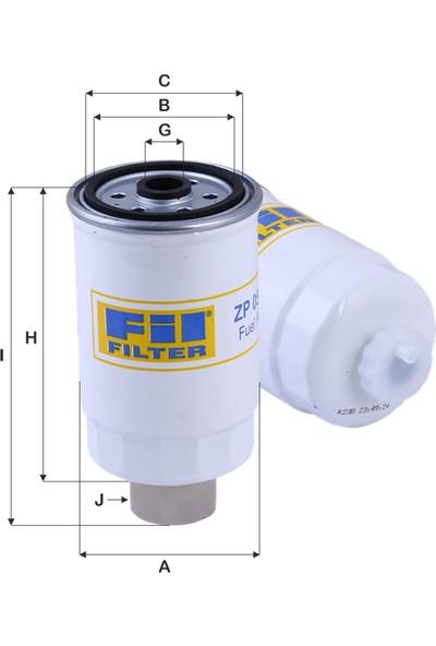 Real Filter Citroen Jumper I 2.5Tdi (1996-2000) Mazot Yakıt Filtresi 1906.60-Wk842/2-Kc80-Pp837-Cs1589