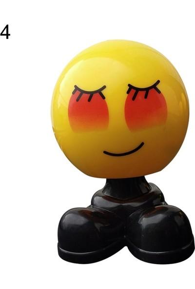 GOB2C Sevimli Emoji Oyuncak Süs 4