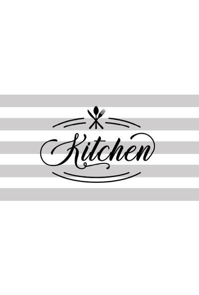 Halımax Fame 224 Mutfak Desen Gri Kitchen Halı