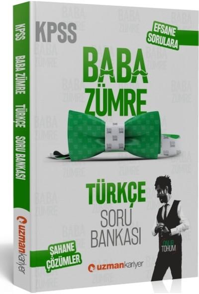 KPSS Baba Zümre 2020 Türkçe Soru Bankası