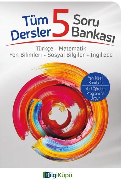 Tudem Yayınları Bilgi Küpü 5. Sınıf Tüm Dersler Soru Bankası (Türkçe-Matematik-Sosyal Bilgiler-Ingilizce)
