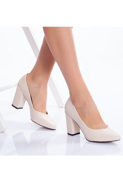 Daxtors 710 Günlük Ortopedik Kadın Topuklu Ayakkabısı