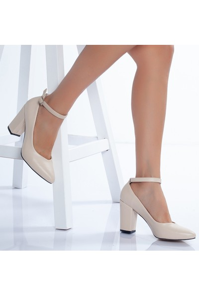 Daxtors 715 Günlük Ortopedik Kadın Topuklu Ayakkabısı