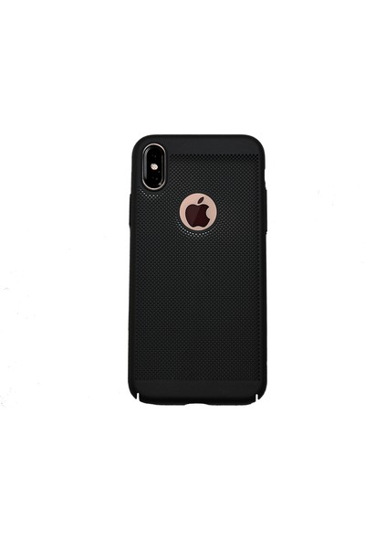 Markaavm Apple iPhone X/XS Rubber Kılıf + Kırılmaz Cam - Siyah