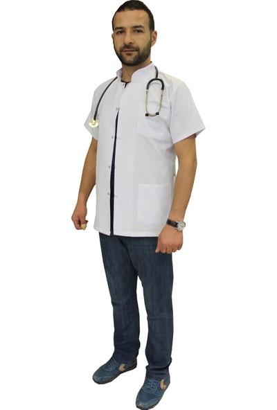 Medusa Forma Beyaz Önlük - Öğretmen Hemşir Doktor Lab Eczacı Meslek Liseleri Staj Önlüğü Laboratuvar Önlüğü