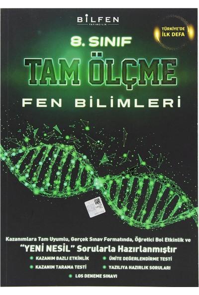 Bilfen Yayınları 8. Sınıf Fen Bilimleri Tam Ölçme