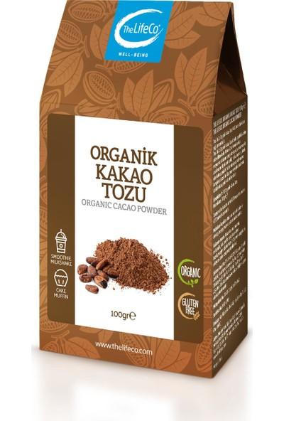 The LifeCo Organik Kakao Tozu 100 gr