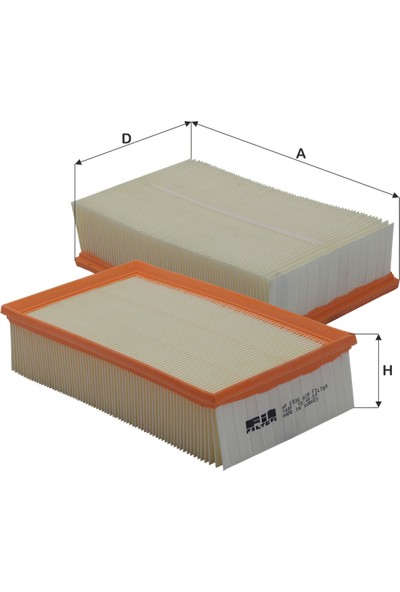 Real Filter Seat Leon Iıı 1.6Tdi-1.8Tfsi-2.0Tfsi-2.0Tdi (2012-) Hava Filtresi-5Q0129620B-5Q0129620D-C30005-Lx3502-Ap240