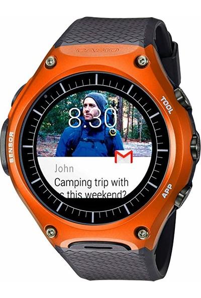 Casio WSD-F10 Akıllı Saat Turuncu