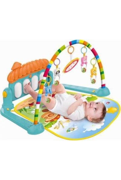Babycim Bebek Piyanolu Oyun Halısı Müzikli