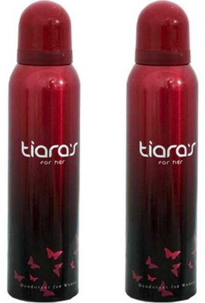 Tiara's For Her Kadın Deodorant 150 ml 2'li