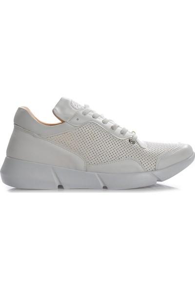 Vizon Ayakkabı Kadın Beyaz Spor Ayakkabı VZN-279Y