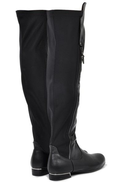 Vizon Ayakkabı Kadın Siyah Çizme VZN19-031K