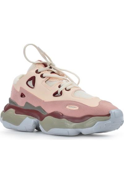Vizon Ayakkabı Kadın Pembe Spor Ayakkabı VZN19-035K