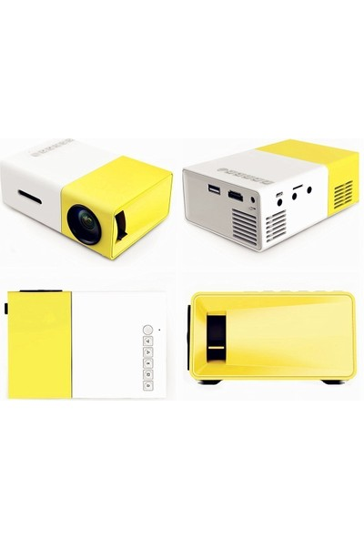 Meer YG300 Portable Pico Mini Projektör