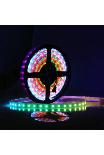 Foblight Trafo 5 Amper + Kumanda + 3 Çipli RGB Şerit LED Iç Mekan
