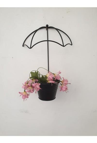 Desen Dekorasyon Tekli Şemsiye Saksı