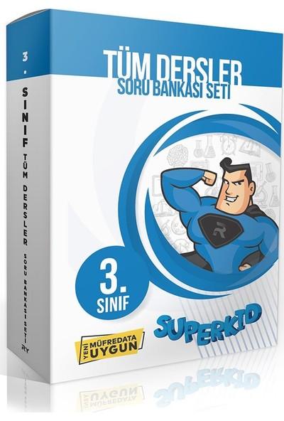 Referans Yayınları Superkid 3. Sınıf Tüm Dersler Soru Bankası (Kutulu Set)