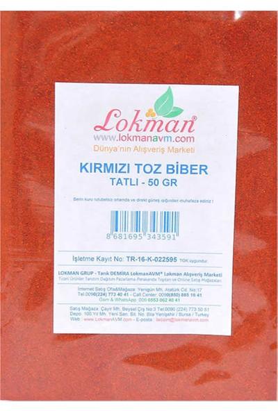 Değirmenci Ali Kırmızı Toz Biber Tatlı 50 gr Paket