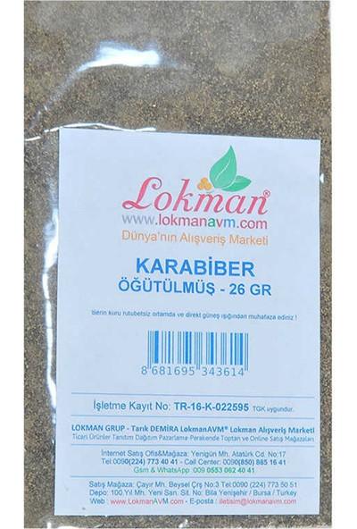 Değirmenci Ali Karabiber Öğütülmüş 50 gr Paket