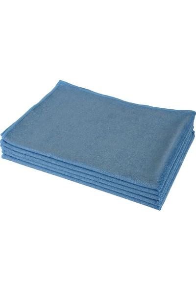 Spark 2312 Mikrofiber Oto Kurulama ve Çok Amaçlı Temizlik Bezi 50X70 Cm. Mavi