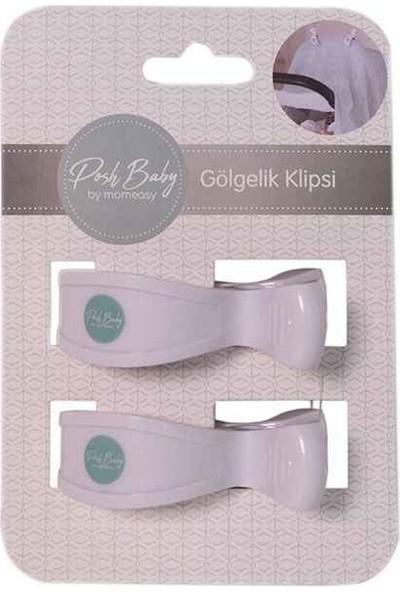 Posh Baby Beyaz Klips