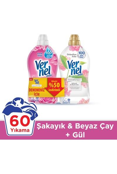 Vernel Max Gül 1440 ml + Vernel Max Şakayık 1440 ml