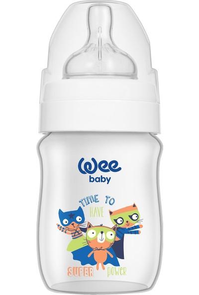 Wee Baby Klasik Plus Geniş Ağızlı PP Biberon 150 ml