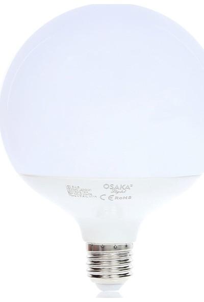 Osaka Light 18W E27 Glob G125 LED Ampul E27 Beyaz 2'li LEDG021 3