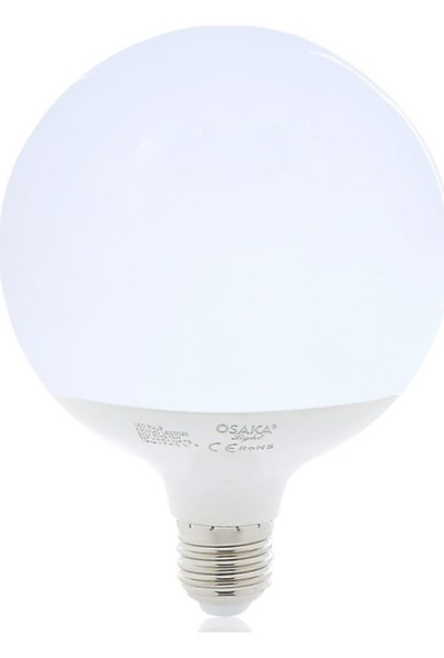 Osaka Light 18W E27 Glob G125 LED Ampul E27 Günışığı 2'li LEDG020 3