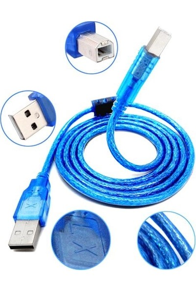 Triline USB 2.0 Printer Yazıcı Kablosu 1.5 mt