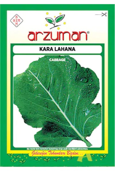 Arzuman Kara Lahana Tohumu 10 gr