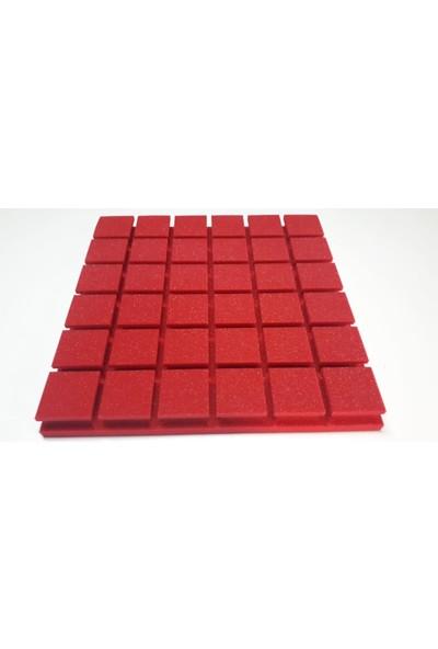 Desibel Akustik Vicostic Kare Renkli Paneller 50 x 50 x 5 cm 20/25 Danste