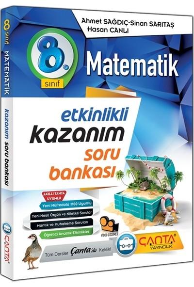 Çanta Yayıncılık 8.sınıf Matematik Etkinlikli Kazanım Soru Bankası