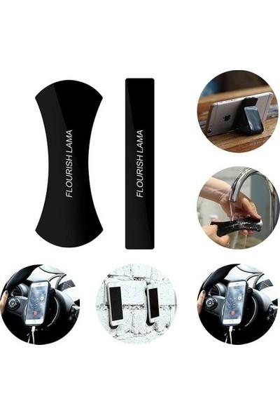 Confty Flourish Lama Her Yere Yapışan Çok Amaçlı Oto Araç Içi Telefon Tablet Eşya Tutucu Nano Ped