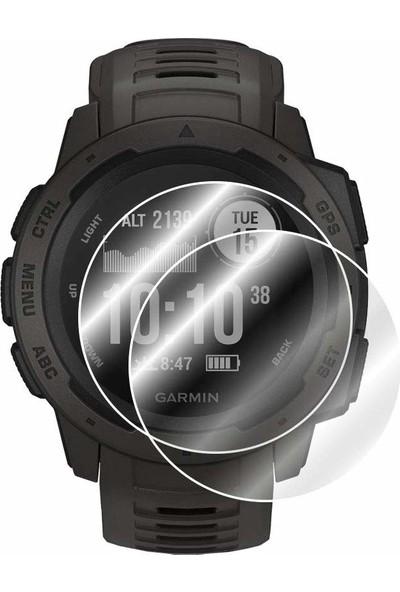 IPG Garmin Instinct Watch Ekran Koruyucu - 2 Adet