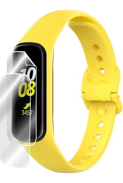 IPG Samsung Galaxy Fit e 2019 Akıllı Fitness Bilekliği Ekran Koruyucu - 2 Adet