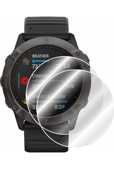IPG Garmin Fenix 6X/6X Pro/6X Pro Solar/6X Sapphire Multispor GPS Akıllı Saat Watch Ekran Koruyucu - 2 Adet