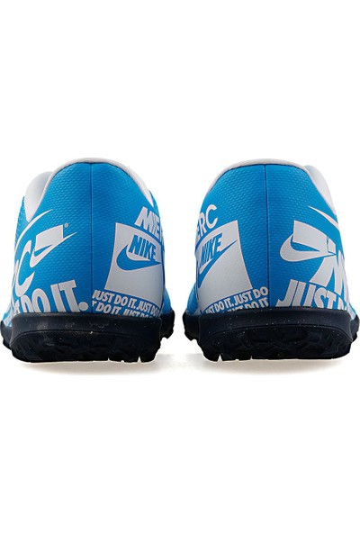 Nike Vapor 13 Club Tf AT7999 Halı Saha Erkek Futbol Ayakkabı Mavi