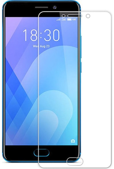 Microcase Meizu Pro 7 Tempered Glass Cam Ekran Koruyucu